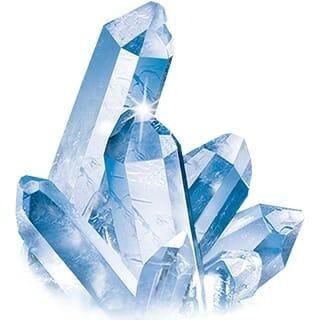 kisel kiselkristall