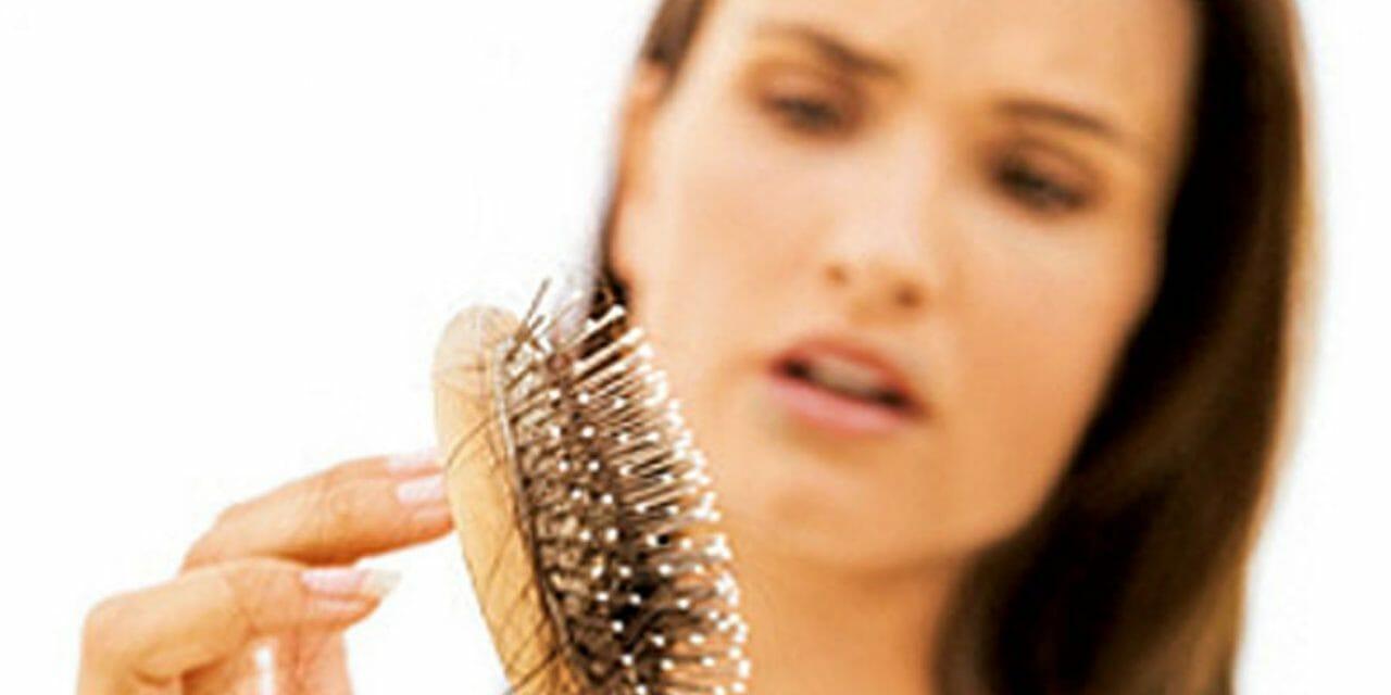 Stress och håravfall har ett samband