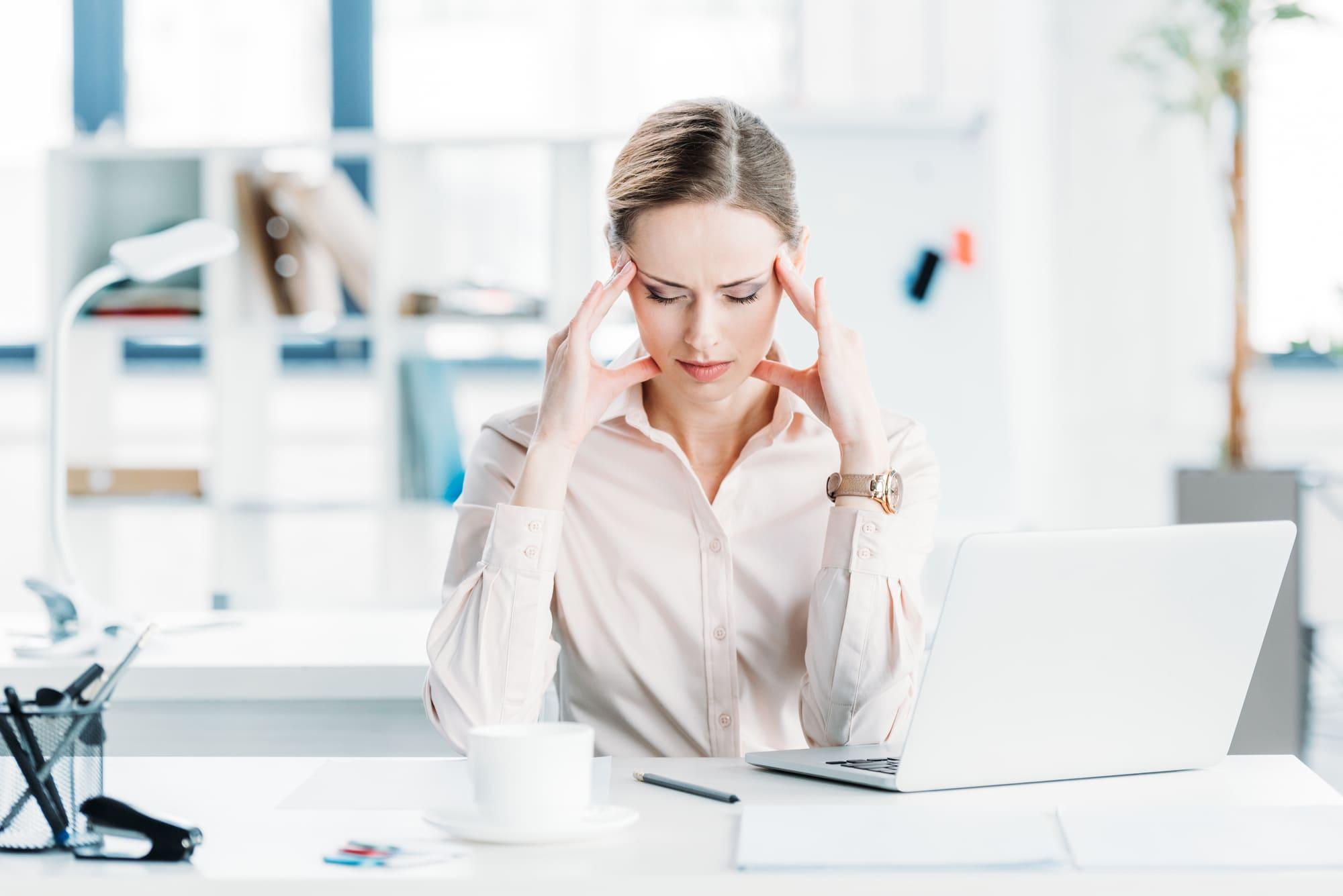 stress kvinna