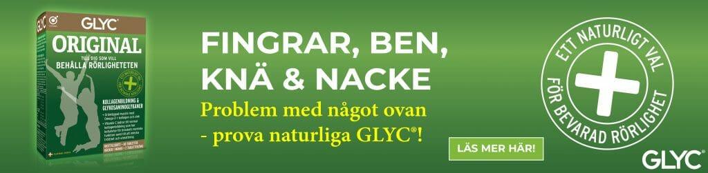 Glyc original hjälper vid artros