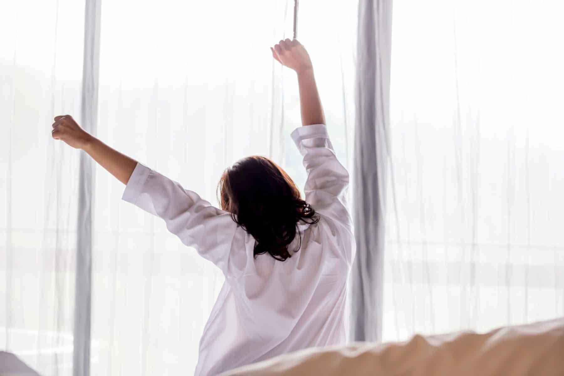 Så sover du bättre när det är ljust ute