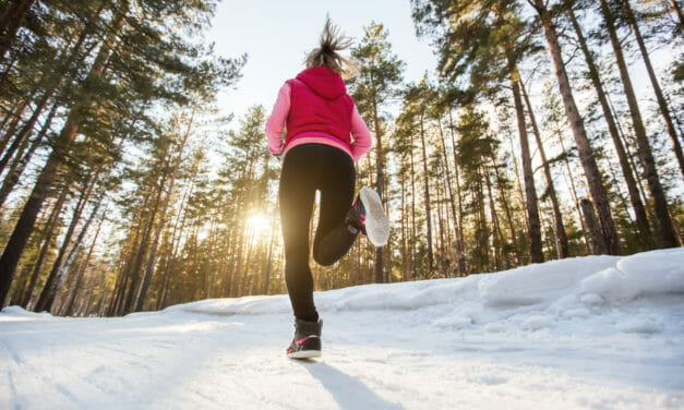 Därför bör du ge dig ut och springa när det är kallt ute