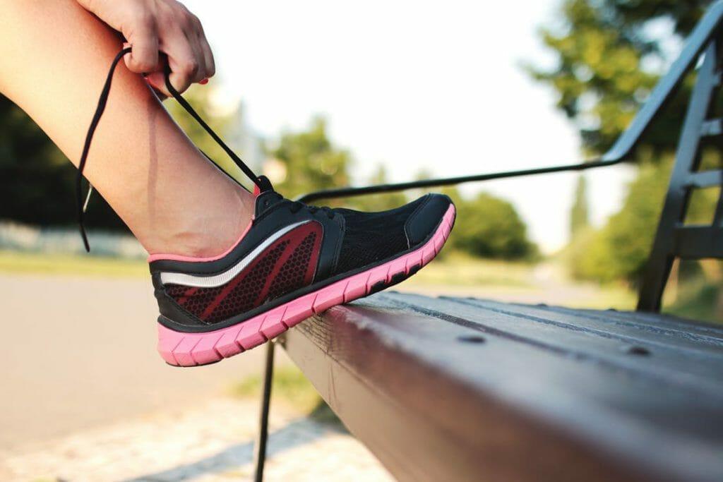 promenad sko ledhälsa