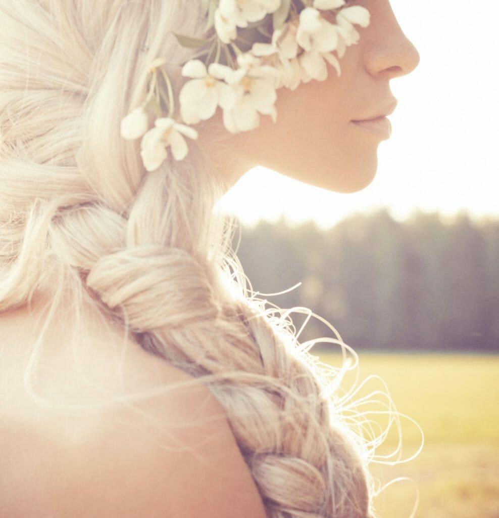 flät frisyr sommar