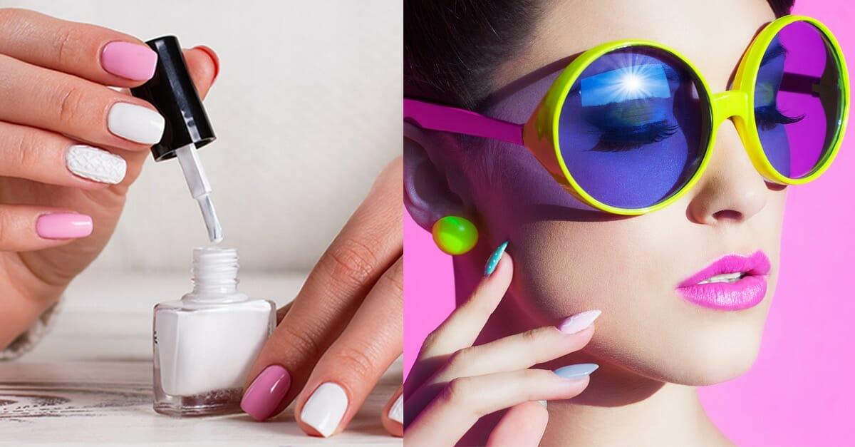 Vårens nageltrender 2018: manikyrer, färger och inspiration