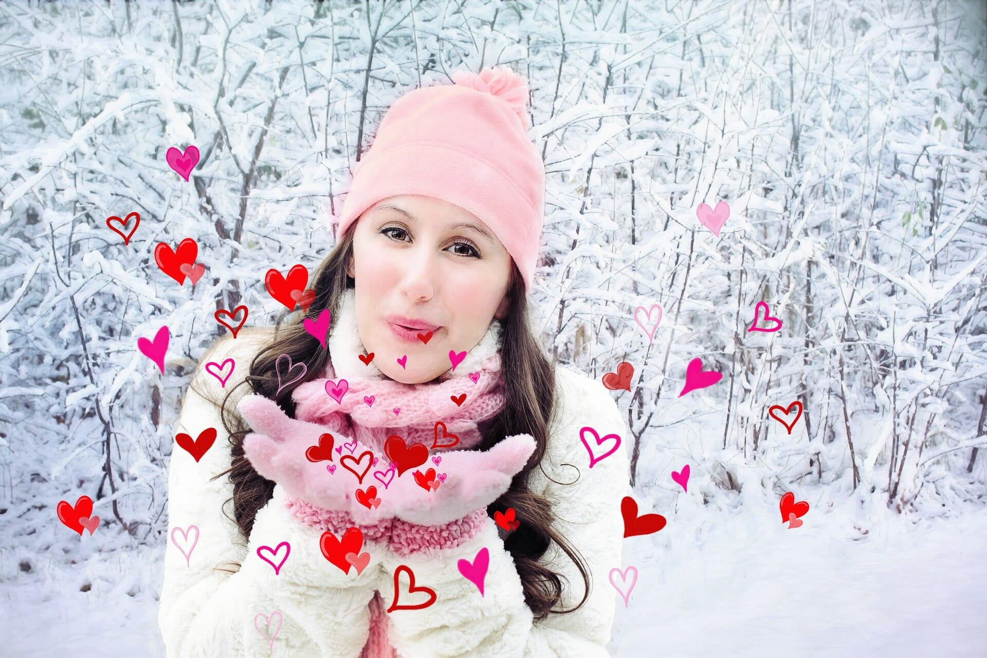 pussar valentines vinter