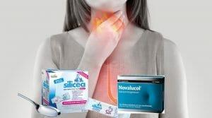 skillnaden mellan silicea mag-tarm och novalucol antacida