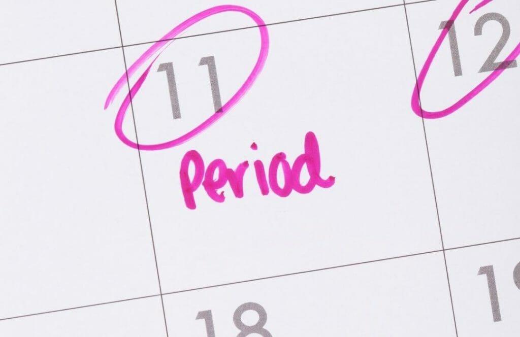 kalender for menscykel