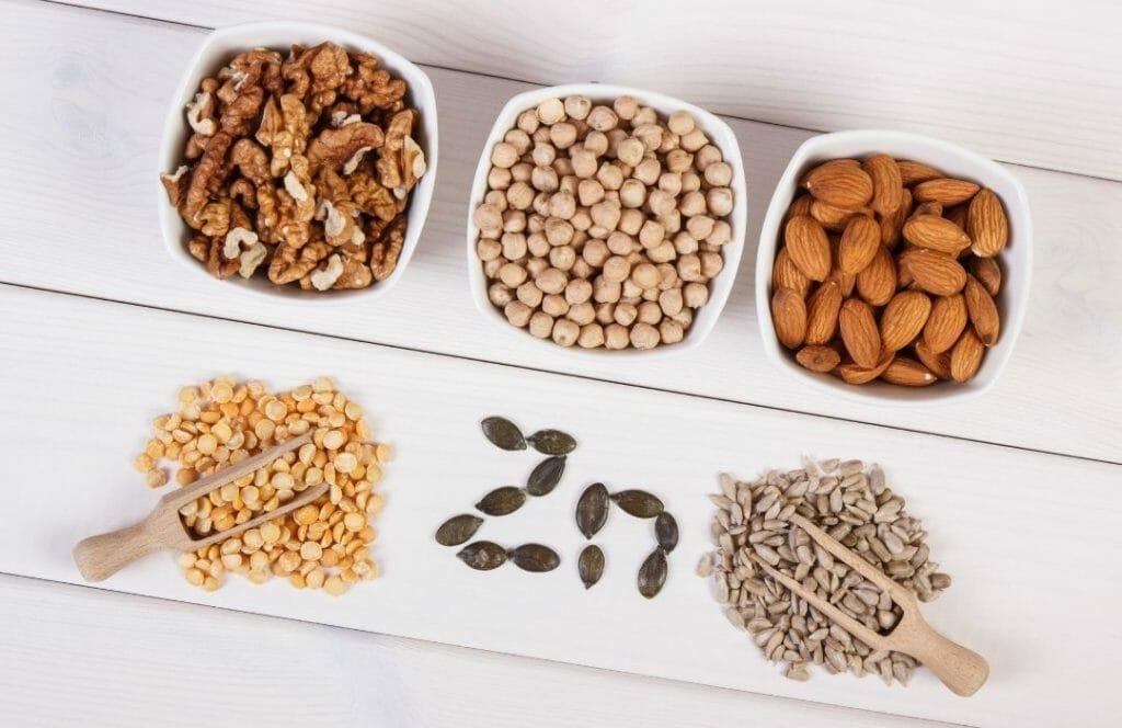 zink vitaminer for haret