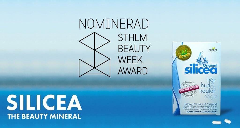 silicea nominerad i stockholm beauty awards bästa hårprodukten