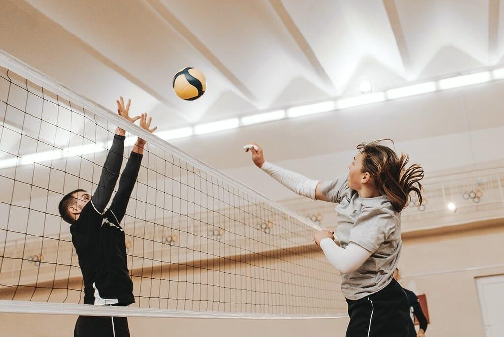 volleyboll-hoppar