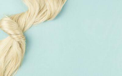 starkt hår med silicea