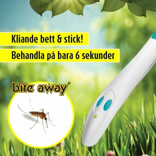klinande bett och stick bite away