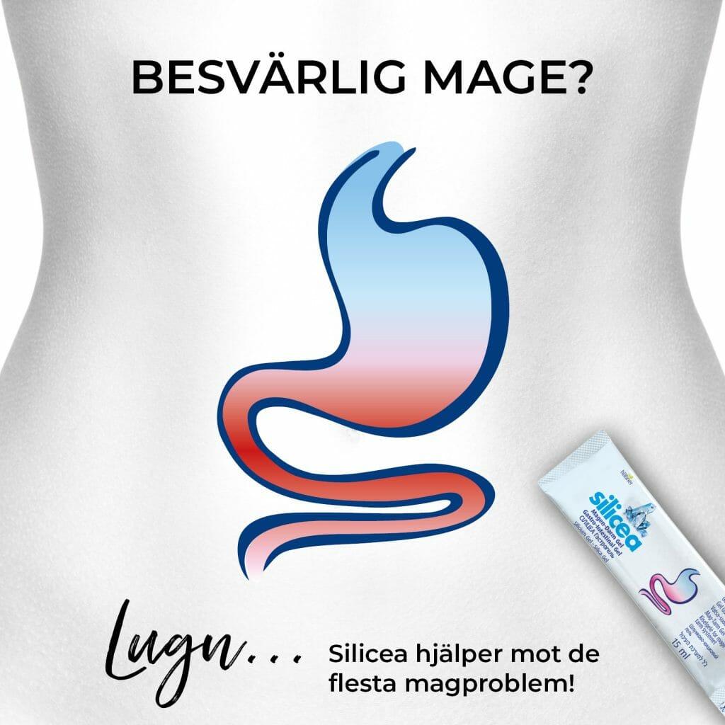Silicea Mag-tarm hjälper mot dina magproblem