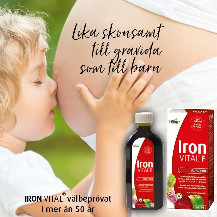 iron vital gravida och barn