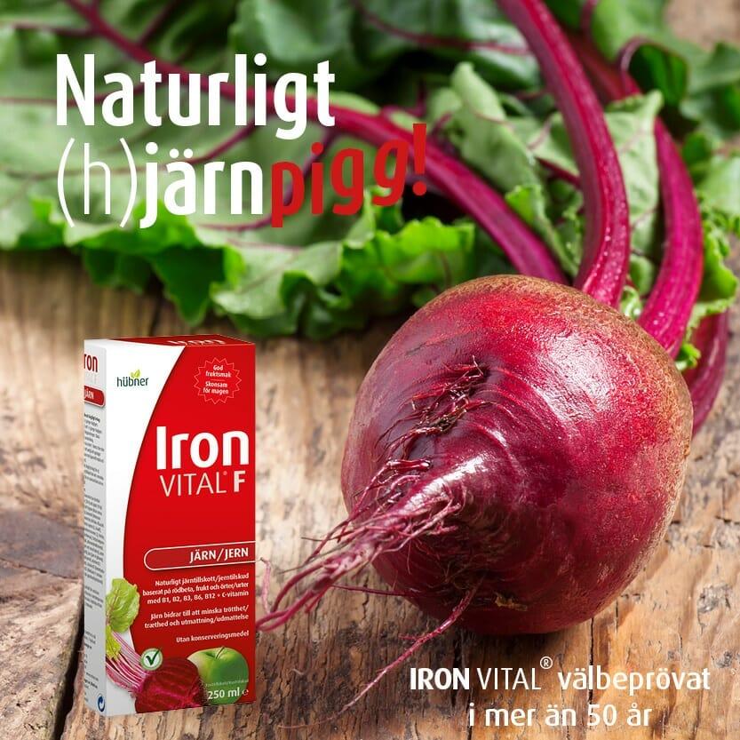 naturligt järnpigg iron vital