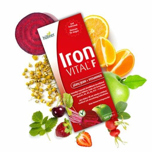 Iron vital med frukt